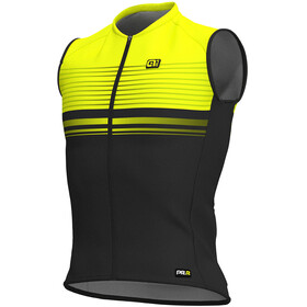 Alé Cycling Graphics PRR Slide Sleeveless Jersey Men black flou yellow